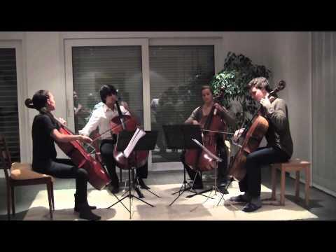 Tchaikovsky: Album for the Young (cello quartet)