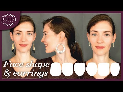 d2763eee3 How to choose earrings for your face shape | My earring collection ...