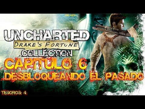 Uncharted 1 Desbloqueando el pasado GUIA+TESOROS