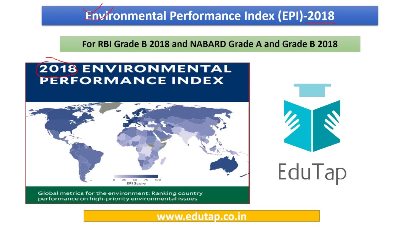 Environmental Performance Index explained for RBI and NABARD 2018 ... fa06b4893f