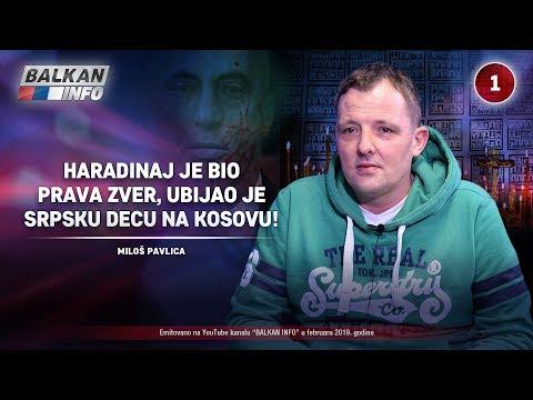 INTERVJU: Miloš Pavlica - Haradinaj je prava zver, ubijao je srpsku decu na Kosovu! (22.2.2019)