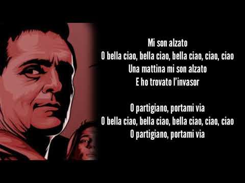 La Casa De Papel - Bella Ciao Lyrics Video / Money Heist +Greek Subs +English Subs