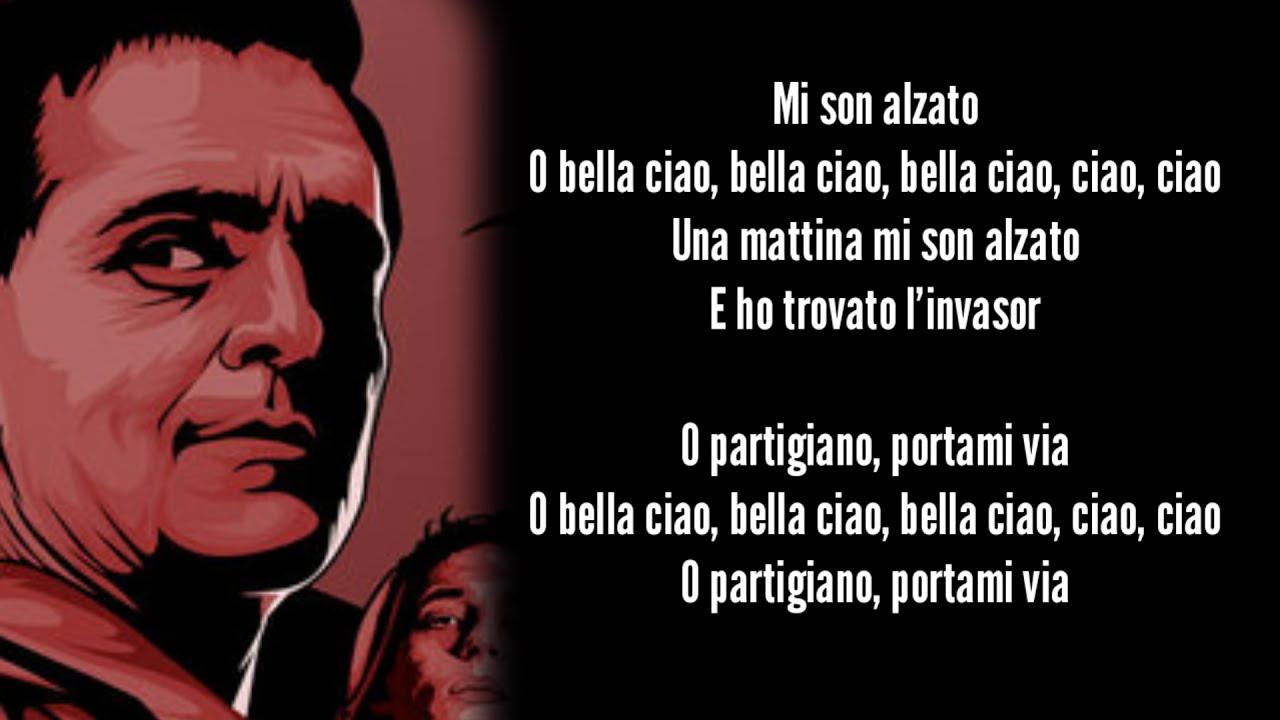 La Casa De Papel Bella Ciao Lyrics Video Money Heist Greek Subs English Subs