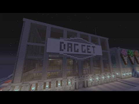 Minecraft Gotham City: Daggett Industries Factory