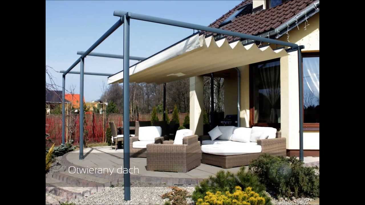 tarasola decor pawilon otwierany dach realizacja. Black Bedroom Furniture Sets. Home Design Ideas