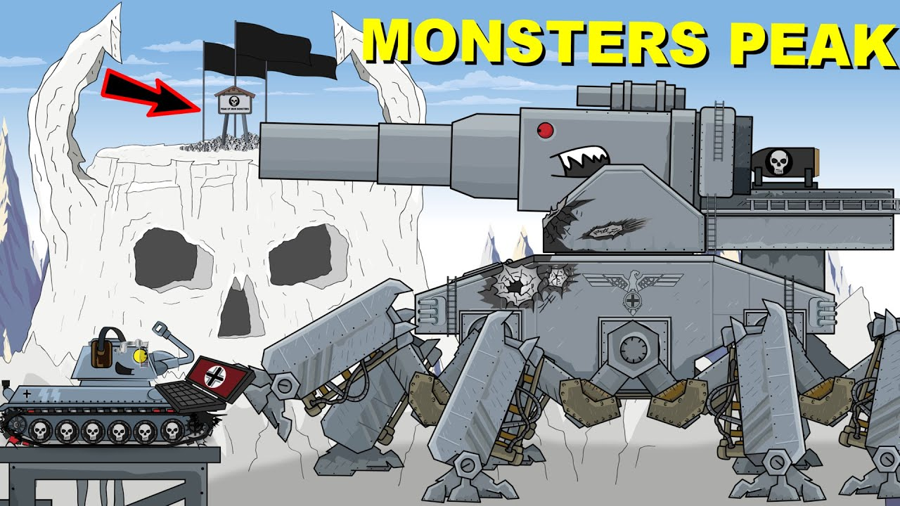 """Download """"Peak of Iron Monsters"""" Cartoons about tanks"""