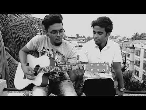 Prithibi Ta Naki Choto Hote Hote | Bheegi Bheegi Si Hain | Cover By Rakeeb & Debargho