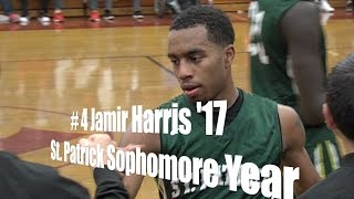 # 4 Jamir Harris '17, St. Patrick Sophomore Year, UA Holiday Classic