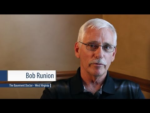 Great Meet Bob Runion | Owner Of The Basement Doctor WV | Servicing OH, KY U0026 WV  Areas