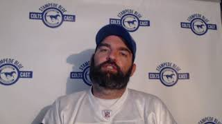 Stampede Blue NFL 2019 Week 8 Indianapolis Colts Post Game Wrap
