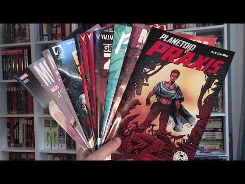 Comic Book Reviews 2-6-17 — Paper Girls #11, Aquaman #15+16, Planetoid Praxis #1 & more!