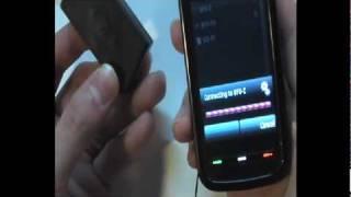 nokia n5800 pairing test with waterproof wireless bt headset bfu z