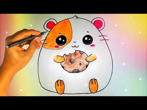 Как нарисовать хомяка легко