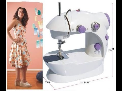 How To Operate The Mini Sewing Machine YouTube Impressive Dressmaker Mini Sewing Machine Instructions