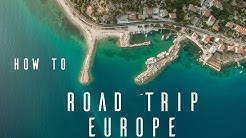 How To Do The Best EUROPE ROAD TRIP  |  Drone GoPro |