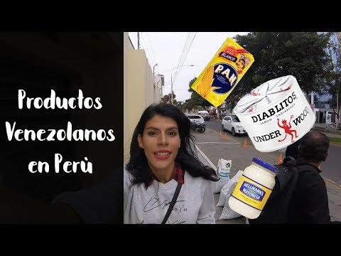 CONSIGUE PRODUCTOS VENEZOLANOS EN TRUJILLO PERU | IN TRAVEL