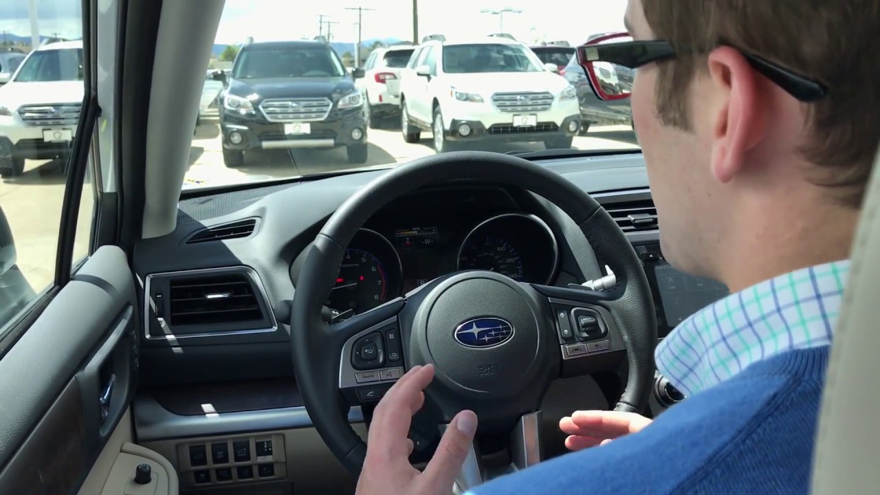Adjust And Customize Subaru Eyesight Settings