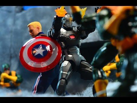 Bandai S.H. Figuarts Captain America: Civil War War Machine MK-3 Review