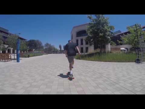 Stanford: Skating Through Campus