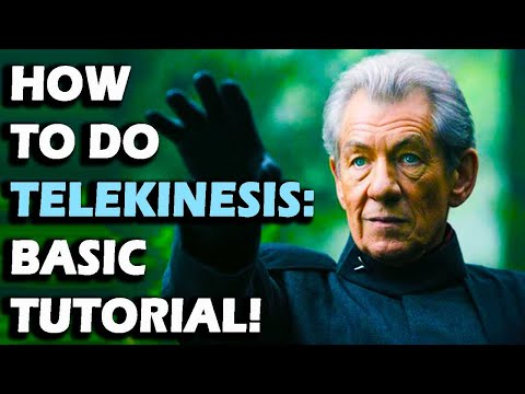 How to do telekinesis / psychokinesis tutorial guide