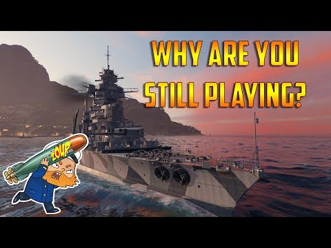 World of Warships Why Are You Still Playing