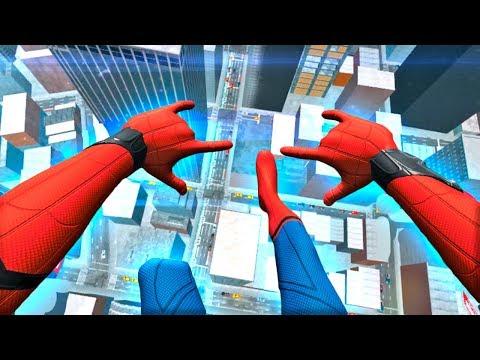 СИМУЛЯТОР ЧЕЛОВЕКА-ПАУКА ДЛЯ ВР! - Spider-Man: Far From Home VR - HTC Vive