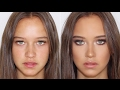 Quick, Easy Smokey Eye Makeup Tutorial ♡ Jasmine Hand