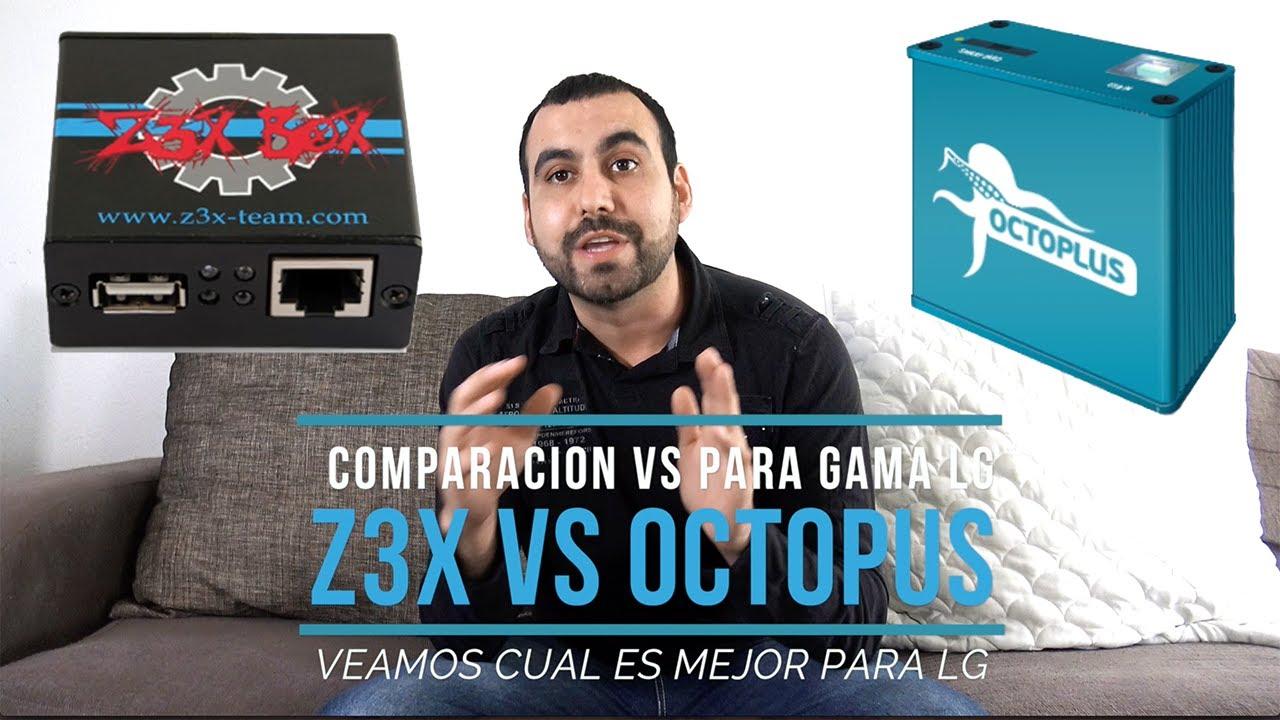 Lg O Mejor Box Para Caja Z3x Liberar Es Servicio Que Octopus Vs