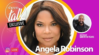 Angela Robinson Goes LIVE with Quentin Fears and Sheen Magazine | Sheen Talk Live