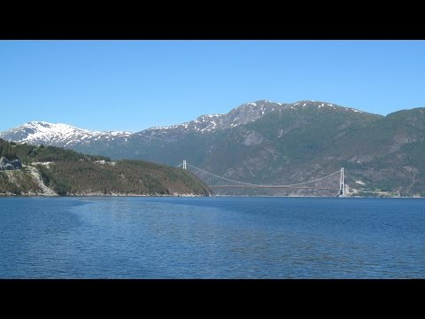 Norway: Rv. 7 Eidfjord / Hardangerfjord