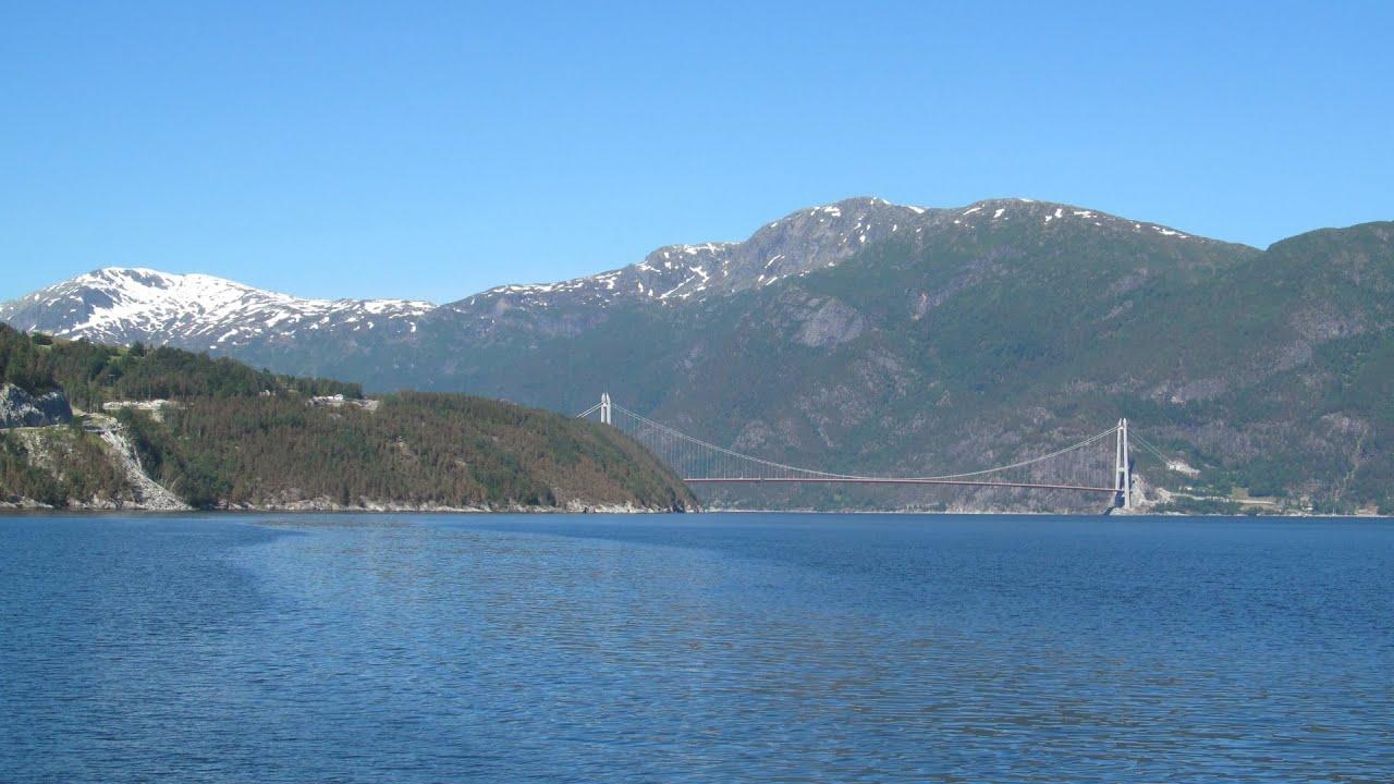 Norway: Rv. 7 Eidfjord / Hardangerfjord - YouTube