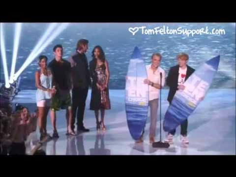 Tom Felton and Rupert Grint at the Teen Choice Awards 2011