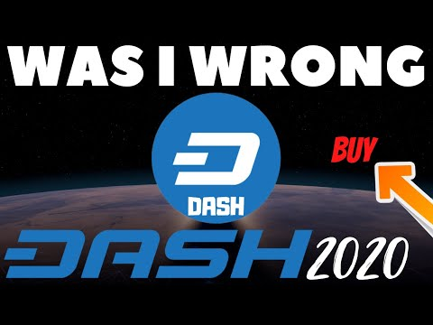 I Was Wrong About Dash? If You Hold Dash You May Want To See This! (Dash Cryptocurrency)