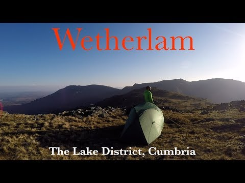 Wetherlam Wild Camp
