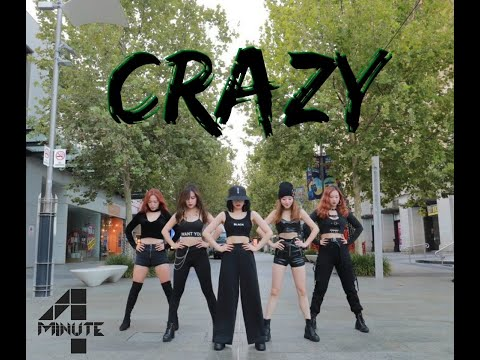 """4MINUTE - """"Crazy"""" Dance Cover By Play Dance Family"""