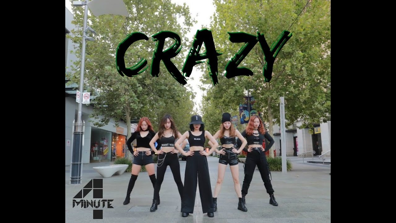 """Download 4MINUTE - """"Crazy"""" Dance Cover by Play Dance Family"""