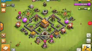 Clash of clans...someone asked me that will you join my clan I will make a clan I said ya..😉😉😉😉