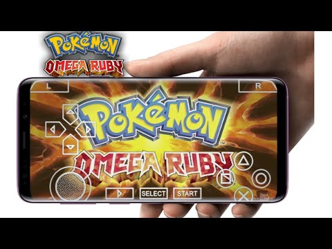 Download And Install Pokemon Omega Ruby Game For Android    With Gameplay Proof