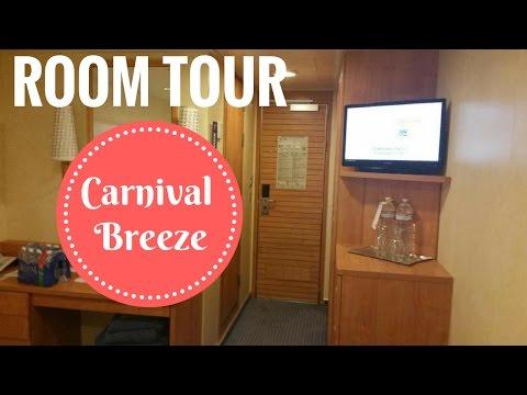 Carnival Breeze Interior Stateroom Tour