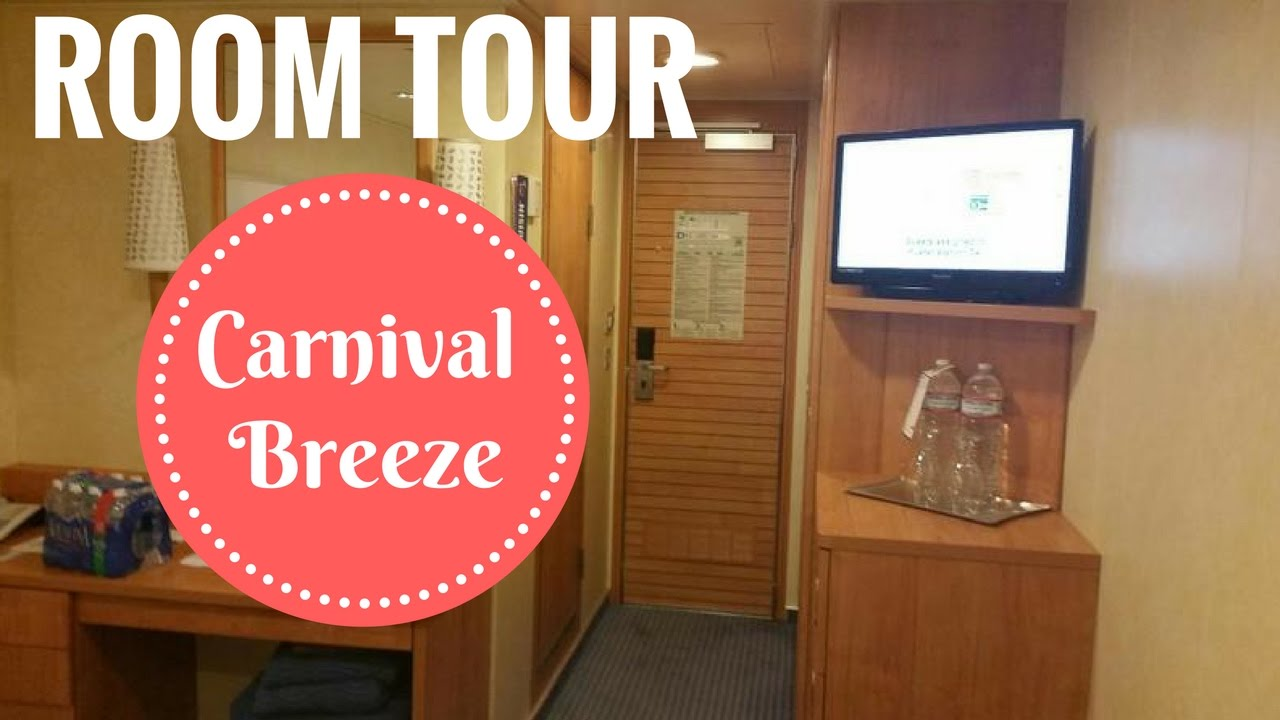 Carnival Breeze Oceanview Stateroom Tour