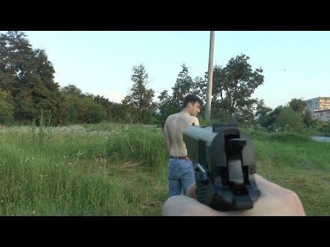 Borner CLT125 (Colt) Проверка на человеке
