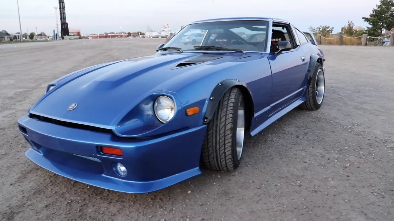 Datsun 280zx Widebody cruising - YouTube