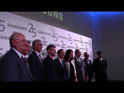 25 Anni di Samsung Italia: in 2015 1,3 mld di impatto economico