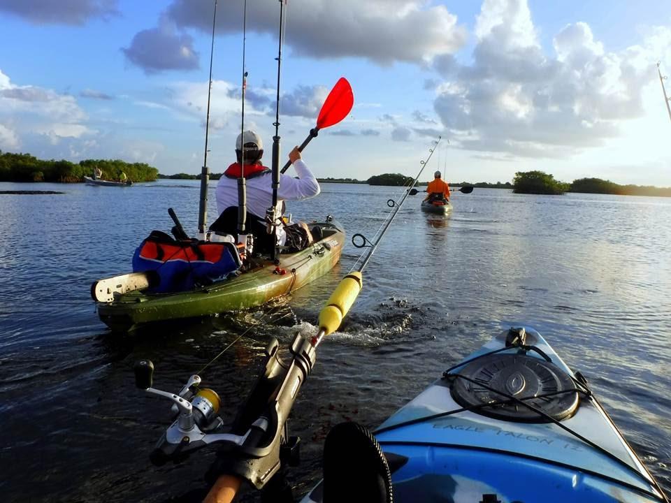 Kayak fishing florida ozello keys reds trout and catfish for Youtube kayak fishing