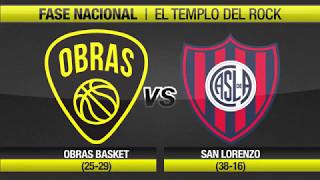 Highlights Obras Basket 65-81 San Lorenzo