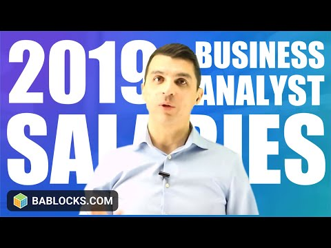 2019 Business Analyst Salary Information