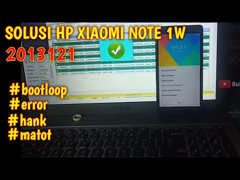 cara-flash-xiaomi-note-1w-||-unbrick-||-bootloop-||-error-||-mati-total-||-restart-sendiri