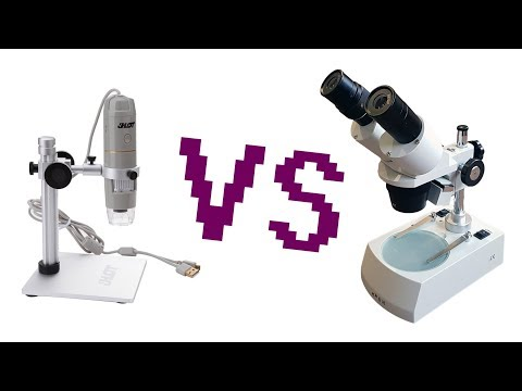 Real stereoscopic or USB microscope? Or both?