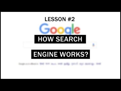 How Search Engine Works? - Lesson #2 - Simple SEO & Blogging Lessons
