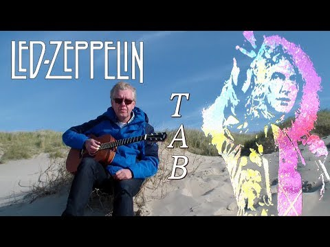 Going to California - Led Zeppelin Fingerstyle Guitar, lesson TAB by Jacques Stotzem
